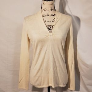 Banana Republic Silk/Cashmere Blend Top Size MD